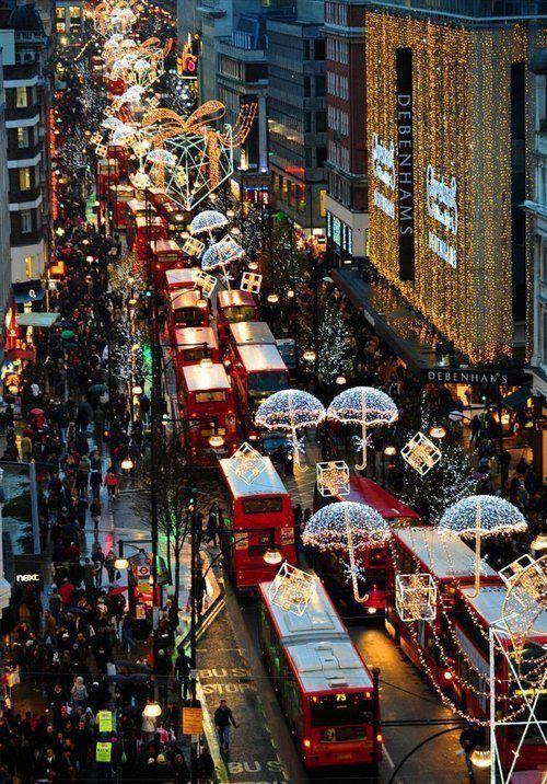 Londona Ziemassvētkos